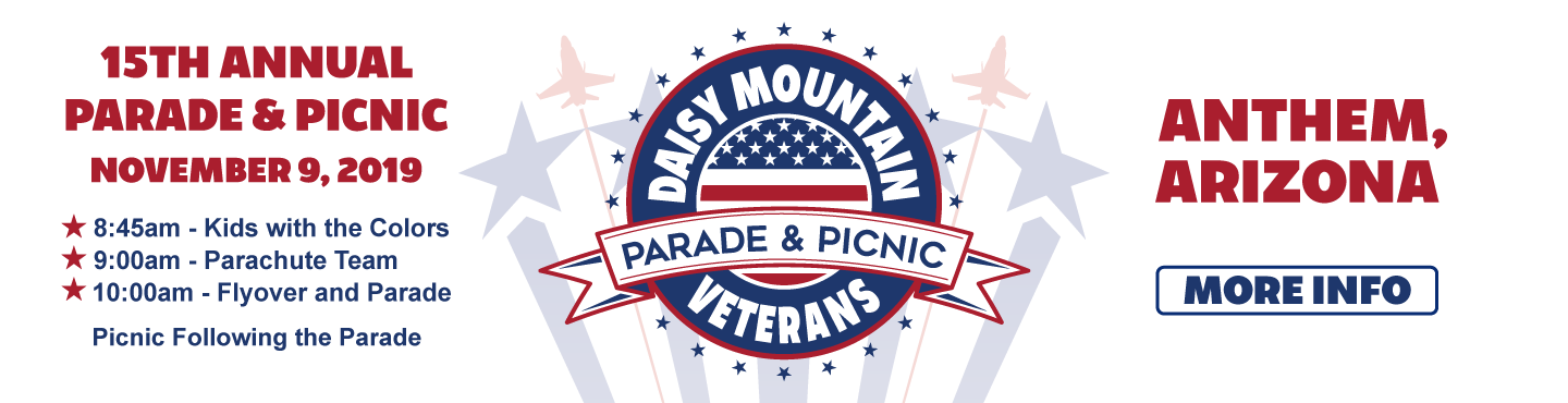 Daisy Mountain Veterans Parade - 2019